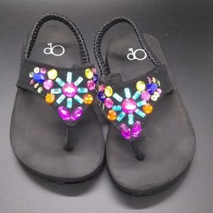 OP Jeweled Baby Sandals